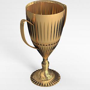 体育奖杯模型3d模型