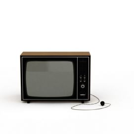 3d老式<font class='myIsRed'>電視機</font>模型