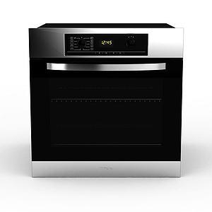 3d家用電磁<font class='myIsRed'>烤箱</font>模型