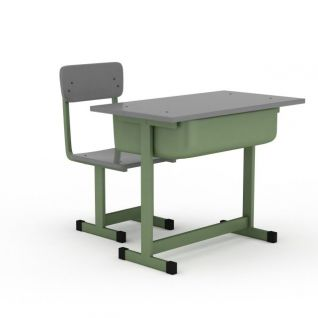 学生书桌3d模型