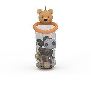 卡通小熊模型3d模型