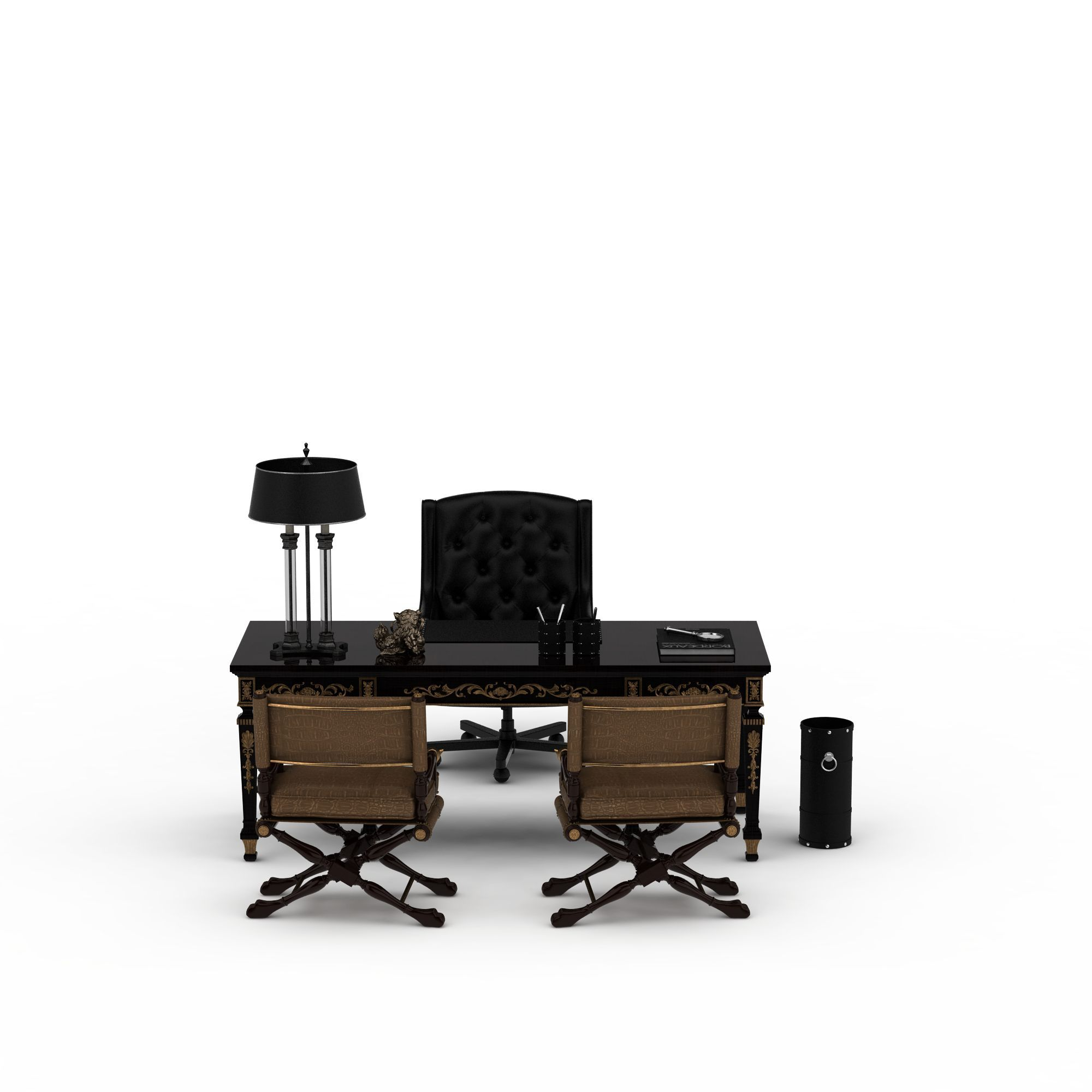 桌椅 办公桌椅3d模型 办公桌椅png高清图  办公桌椅高清图详情 设计师