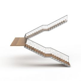 3d时尚<font class='myIsRed'>楼梯</font>模型
