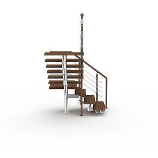 阁楼<font class='myIsRed'>楼梯</font>3d模型