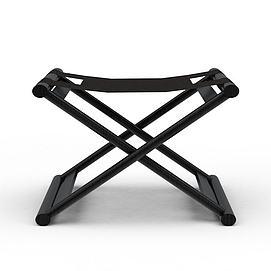 折叠凳子3d模型