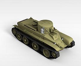 3d37<font class='myIsRed'>坦克</font>模型