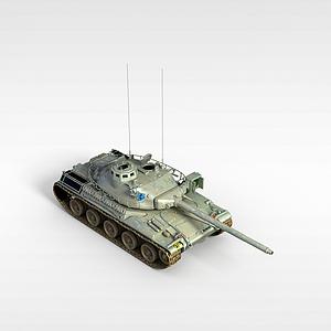 3d虎式<font class='myIsRed'>坦克</font>模型
