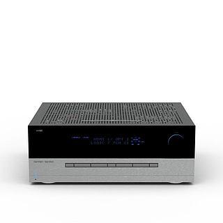 数字调音台3d模型