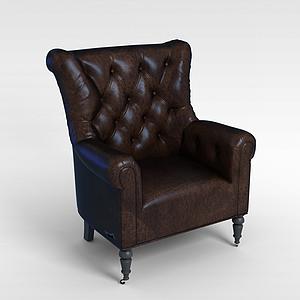 3d懶人舒適沙發模型