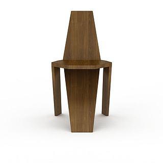 艺术椅子3d模型