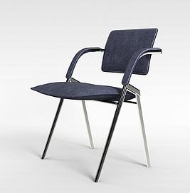 3d进口折叠椅模型