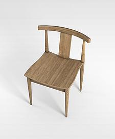 3d中式椅子模型