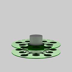 舞台地板灯3D模型3d模型