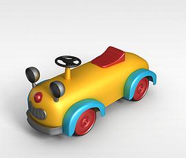 儿童玩具小车3d模型