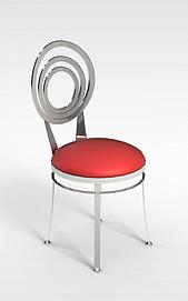 3d时尚椅子模型