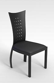 3d时尚餐椅模型