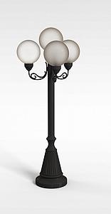 室外路灯模型