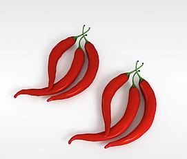 红辣椒3d模型