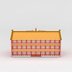 古建筑模型3d模型