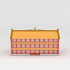 3d<font class='myIsRed'>古建筑</font>模型