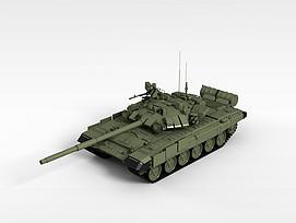 3d99式主战<font class='myIsRed'>坦克</font>模型