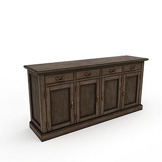 复古风格家具3d模型