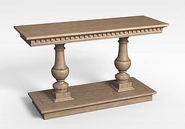 3d实木<font class='myIsRed'>家具</font>模型