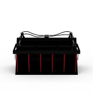 搂草机3d模型