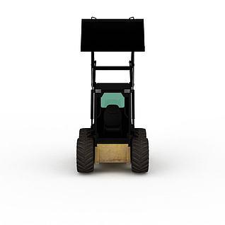 四轮车3d模型