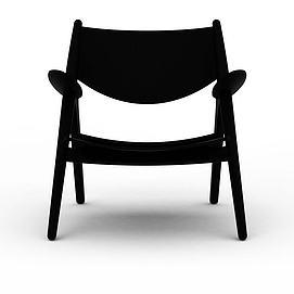 3d折叠休闲椅模型