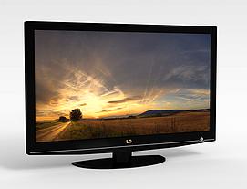 3dLG液晶電視模型