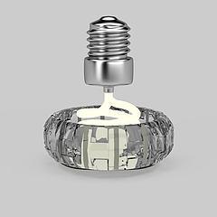 吸顶灯模型3d模型