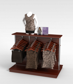 3d服装店<font class='myIsRed'>衣服</font>模型