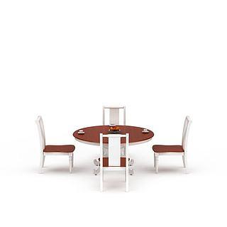 客厅<font class='myIsRed'>餐桌</font>3d模型