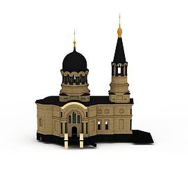 罗马建筑3d模型