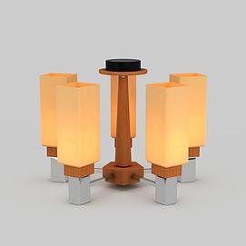 3d中式风格吊灯模型