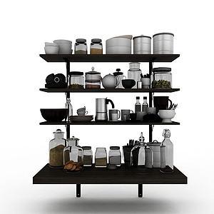 厨房用品模型3d模型