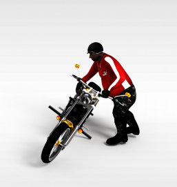 3d游戏<font class='myIsRed'>摩托车</font>模型