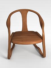 休闲中式椅子3D模型3d模型