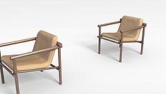 现代休闲椅子模型3d模型