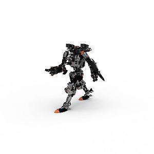 3d机器人模型