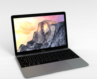3d苹果笔记本模型