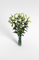 装饰花模型3d模型