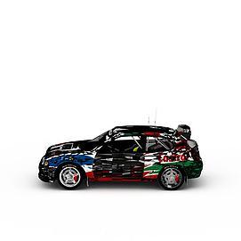 3d炫酷赛车模型