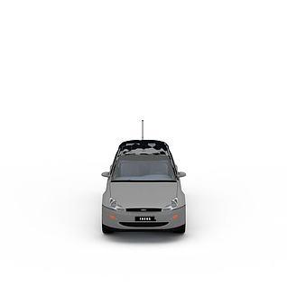 灰色汽车3d模型3d模型