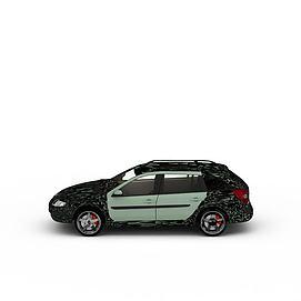 3d赛车<font class='myIsRed'>汽车</font>模型
