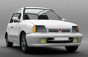 3d微型<font class='myIsRed'>小汽车</font>模型