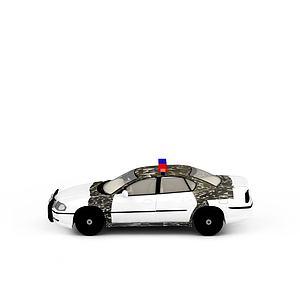 3d警车模型