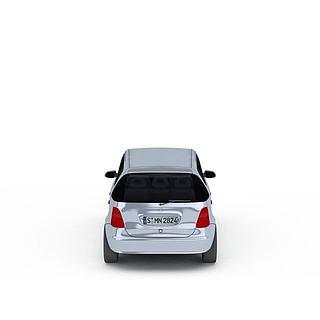 奔驰迷你<font class='myIsRed'>汽车</font>3d模型
