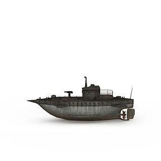 海上船只3d模型